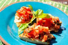 Chicken Bruschetta | Paleo diet lifestyle