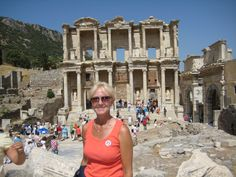 I LOVE Turkey! The city was famed for the Temple of Artemis (completed around 550 BC), one of the Seven Wonders of the Ancient World. Emperor Constantine I rebuilt much of the city and erected new public baths. Ephesus was one of the seven churches of Asia that are cited in the Book of Revelation.[3] The Gospel of John may have been written here.[4] The city was the site of several 5th century Christian Councils, see Council of Ephesus. It is also the site of a large gladiators' graveyard…