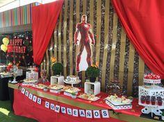 Decoración de Iron Man en ParaWawasPlace Iron Man Theme, Iron Man Party, Iron Man Birthday, 5th Birthday, Birthday Parties, Church Events, Ideas Para Fiestas, Man Candy, Event Decor