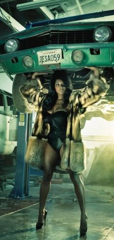 Toccara Jones by Steven Meisel for Vogue Italia