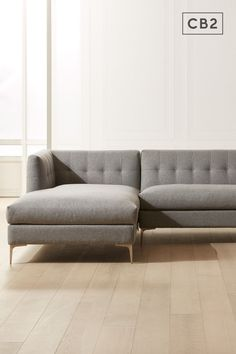 Tufted Sectional, Sofa, Couch, Living Furniture, Home Furniture, Funky Wallpaper, Professional Upholstery Cleaning, Tabletop Accessories, Living Room Modern