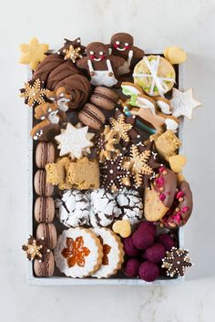 Biscotti di Natale 2018 - Dream Christmas Cookies Box - New Ideas Christmas Cookies Gift, Christmas Biscuits, Christmas Sweets, Christmas Cooking, Christmas Bon Bon, Christmas Cupcakes, Christmas Goodies, Christmas Cross, Cookie Gifts