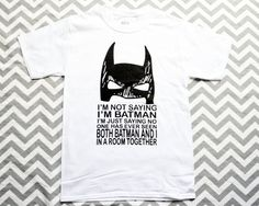 Hey, I found this really awesome Etsy listing at https://www.etsy.com/listing/123750210/batman-tee-mens-sizing