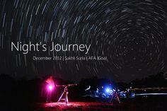 The video created using all the footage that was captured during the Tillari Star party,