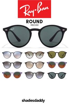 ef042d1479a6 10 Best Ray-Ban Round RB2180 Sunglasses images in 2018