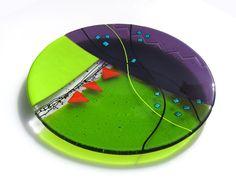 Lime Spectrum Bowl-Valerie Adams