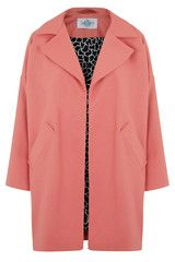 The Cocoon Coat - Coral Pink by Tara Starlet