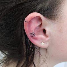 Helix Ear Tattoos | POPSUGAR Beauty