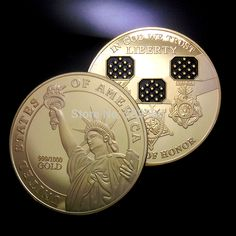 The American Medal of Honor coin