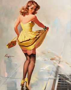 I love old pin-ups! Sexy, not skanky ;)