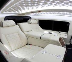Beautiful rolls Royce interior