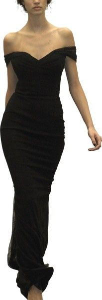 Siyah Dusuk Kol Abiye 205x600 Düşük Kollu Elbise Modelleri 2013