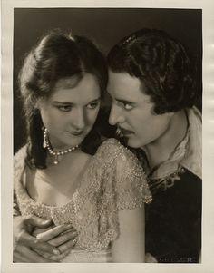 Eleanor Boardman and John Gilbert by Ruth Harriet Louise
