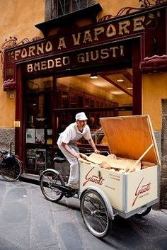 The oldest bakery in Lucca in Tuscany, Italy. #Expo2015 #Milan #WorldsFair