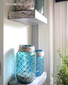 I've collected 5 easy nautical decorating ideas so we can add summer to our home, and then enjoy summer. Ideas that takes moments to create.