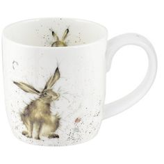 Royal Worcester Wrendale - Good Hare Day Mug - (MMKE5629-XT) - eCookshop  £8.00