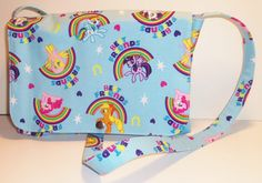My Little Pony Inspired Messenger Style Purse by CosplayMommas