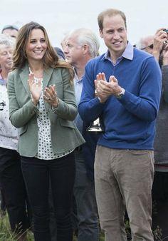 Herzogin Kate mit Prinz William