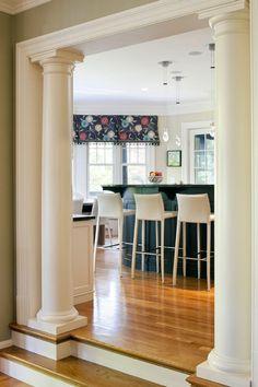 Columns On Pinterest Columns Half Walls And Interior Columns