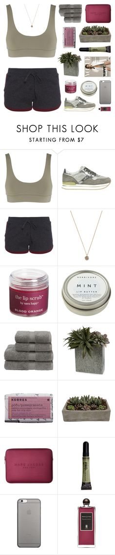 """SATURDAY"" by emmas-fashion-diary ❤ liked on Polyvore featuring Jagger, Hogan, Pepper & Mayne, Jada, Sara Happ, CB2, Christy, Korres, Shop Succulents and Marc Jacobs"