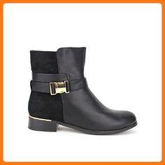 Cendriyon, Damen Stiefel & Stiefeletten , schwarz - schwarz - Größe: 41 EU (*Partner Link)