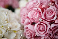 Dusty Pink and White Foam Roses Dusty Pink, Foam Roses, South Wales, Lilies, Most Beautiful, Lace Weddings, Plants, Garden, Flowers