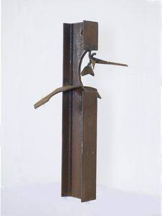 Marcus White, Untitled, Welded Steel, 10.25 x 18 x 36.5 inches.
