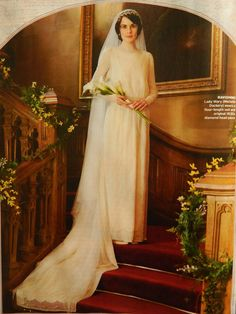 Downton Abbey ~ Mary and Matthew Crawley's wedding