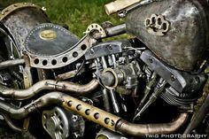 Steampunked Harley