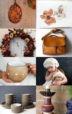 Rich Autumn by Moira Lawrance on Etsy--Pinned with TreasuryPin.com