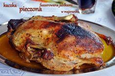 Najprostszy przepis na kaczkę pieczoną w rękawie – Eat Me Fit Me! Poultry, Pork, Food And Drink, Turkey, Tasty, Chicken, Meat, Dinner, Cooking