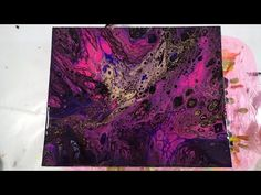 (1) (28) Dirty pouring rich colors and a special ingredient - YouTube
