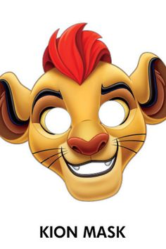 The Lion Guard - Kion Mask