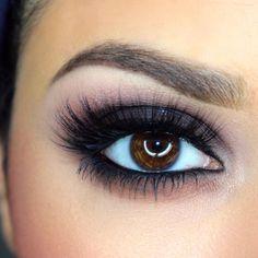 love this classic smokey eye!  ~  we ❤ this! moncheribridals.com