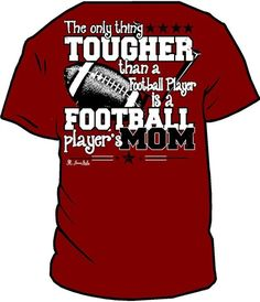 Cute Cotton Football Mom