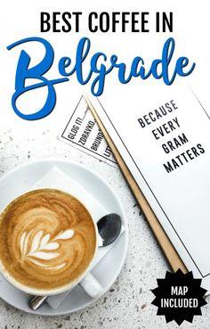 The Best Coffee in Belgrade, Serbia. Travel in Europe.