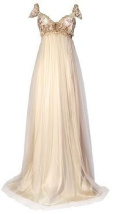 Not necessarily this dress itself since I wish it was all in white, but this style would look gorgeous on you :)