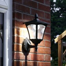 This solar wall light with 6 LEDs, in either white or warm white, is the perfect 'Welcome Light' for placing close to your front door. Outdoor Solar Wall Lights, Outdoor Wall Lighting, Solar Lights, Entrance Lighting, Solar Powered Lights, Dusk To Dawn, Entrance Gates, Wall Brackets, Solar Panels