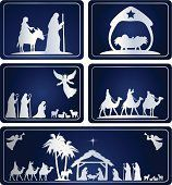 Blue Nativity