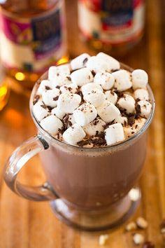 varm choklad nutella