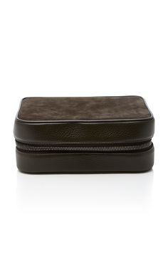 reputable site fe137 b7c34 Asprey s kit is crafted from durable textured-leather and fitted with a zip  that securely wraps around three sides. ModeSens