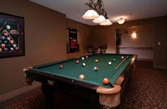 Pool & Games Room