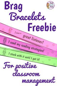 FREE Brag bracelets