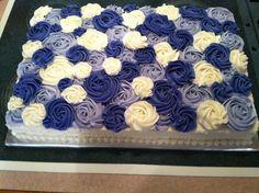 rosette sheet cake!
