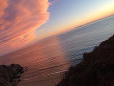 ca mountain sunset