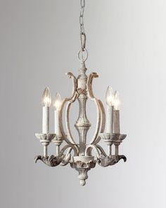 Mini chandelier, Simple Bronze Small Pendant Chandelier: Lovely small chandelier styles