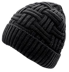 f8854297a0c Loritta Mens Winter Warm Knitting Hats Wool Baggy Slouchy Beanie Hat Skull  Cap  Loritta Knitting