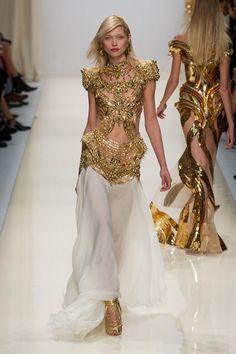 valentin yudashkin spring/summer 2014  also useful when cosplaying as Daenerys Targaryen
