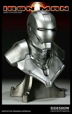 Life-Size Bust - Iron Man Mark II #2976
