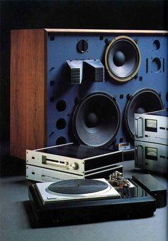 Technics SP Turntable JBL Speakers